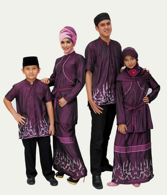 Baju Seragam Keluarga Modern Terbaru