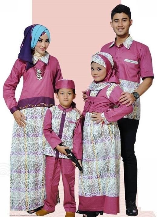 30 Model Baju Batik Seragam Keluarga Terbaru 2017 Limited Edition