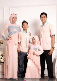 Model Baju Lebaran Couple ibu dan anak Artis Terbaru