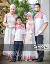 Model Baju Lebaran Keluarga Terbaru