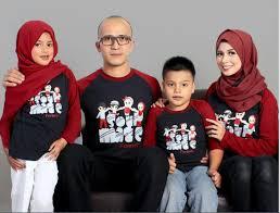 Contoh Model Baju Keluarga Modern Terbaru