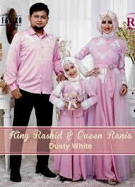 Model Baju Kebaya Muslim Seragam Keluarga Terbaru