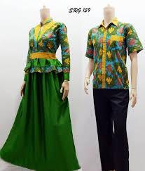 Model baju Batik couple keluarga untuk kondangan terbaru