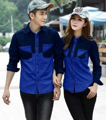 Model Baju couple pesta modern