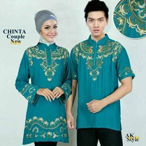 Model Baju Muslim Couple Keluarga Modern Terbaru