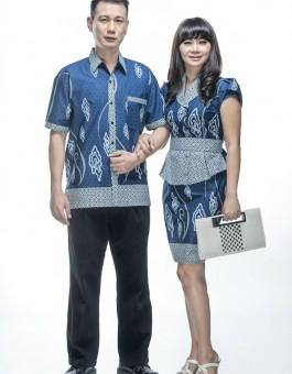Desain Baju Batik Couple Keluarga untuk Pesta Pernikahan Terbaru