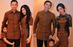 model baju batik Seragam keluarga terbaru