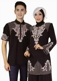 Desain Baju Muslim Couple untuk Pesta remaja