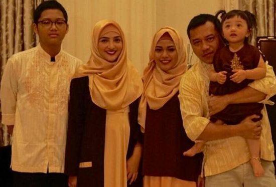 Baju Lebaran Keluarga Anang Ashanty