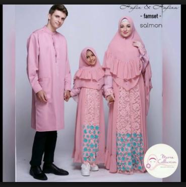 Model baju seragam keluarga untuk pesta pernikahan terbaru